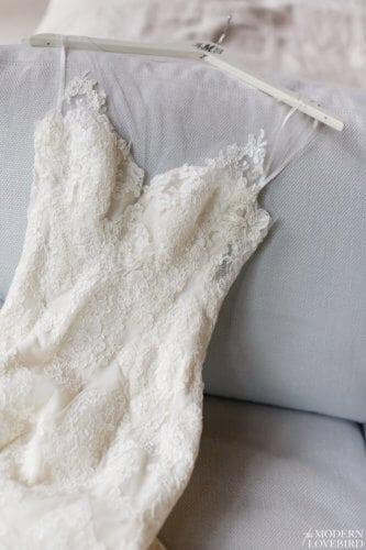 Lace Dress. Photo credit: The Modern Lovebird