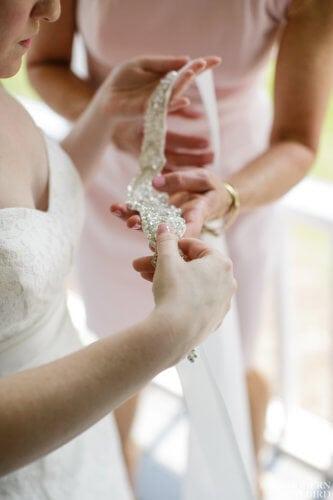 Sparkly Dress Belt. Photo credit: The Modern Lovebird
