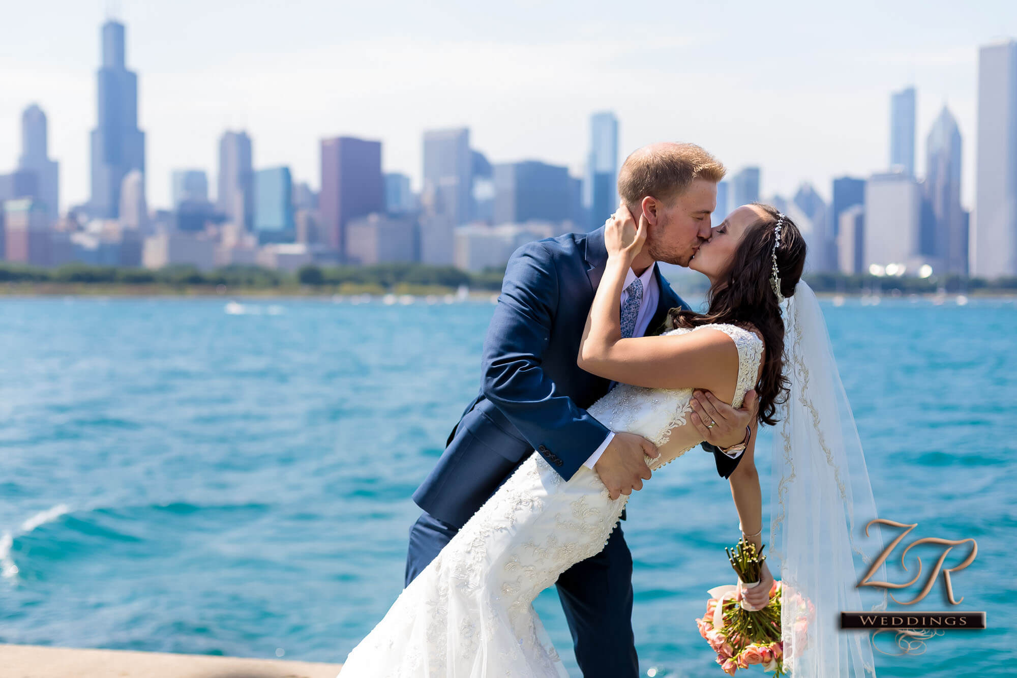 Elyssa Alex S Downtown Chicago Wedding